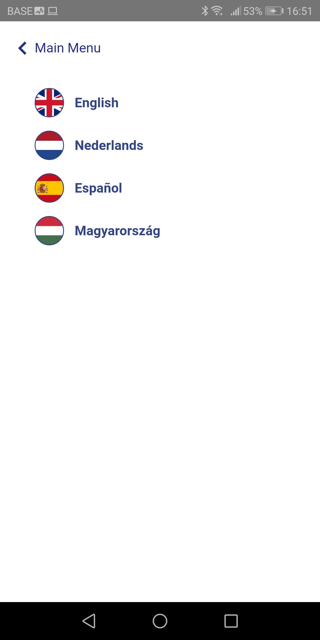 Various languages